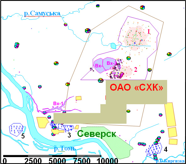в районе Димитровграда,