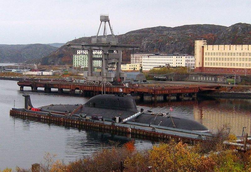 атомная лодка проекта 971