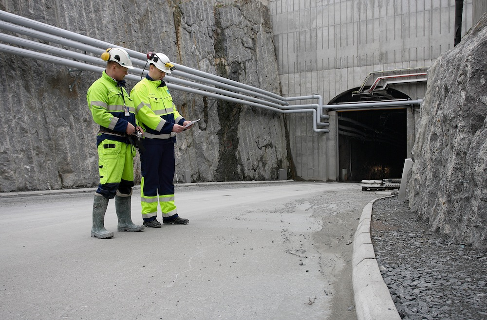 Хранилище радиоактивных отходов ONKALO в Финляндии