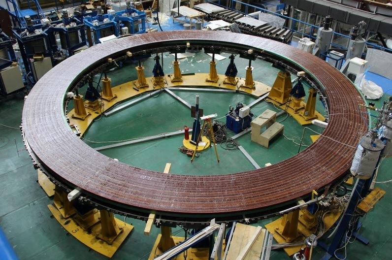 Закончена пропитка первой двойной галеты российской катушки полоидального  поля для ИТЭР | Атомная энергия 2.0