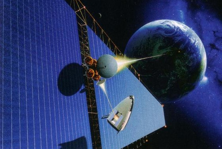 China has begun developing the first space-based solar ...