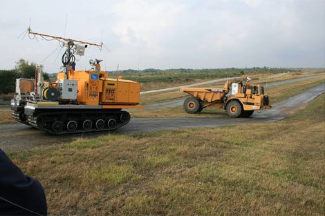 ERELT, REMOTE CONTROLLED RELAY ENGINE and EBENNE, PUBLIC WORKS REMOTE CONTROLLED TRANSPORT ENGINE