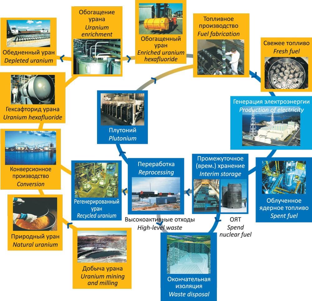 ядерного топливного цикла
