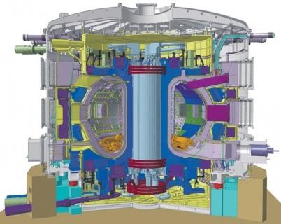 Реактор в разрезе схема