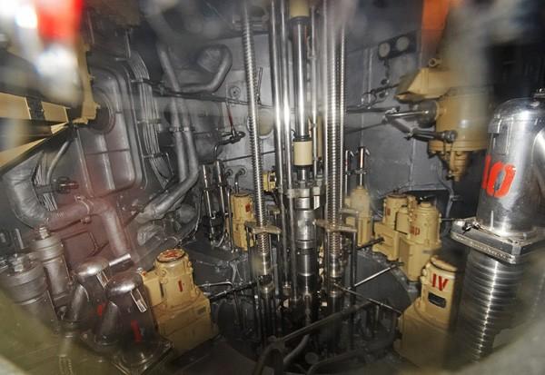 первый атомный реактор на подводной лодке