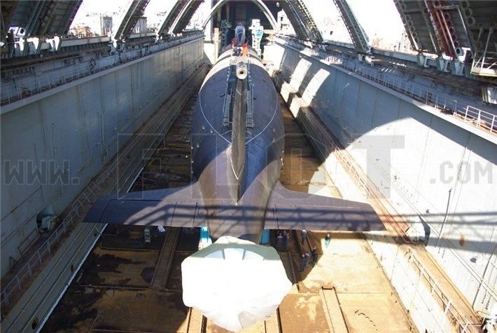 лодка проект 885