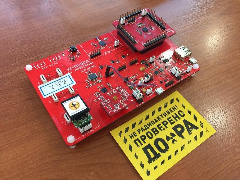 Интерсофт Евразия создаёт индикатор радиации для NEXPAQ