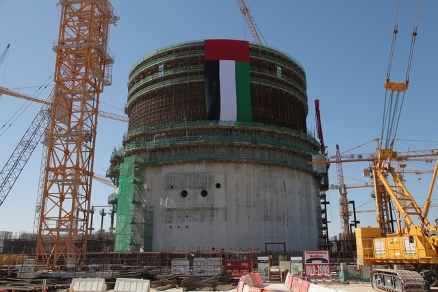 """На втором блоке АЭС """"Барака"""" установлены парогенераторы"""