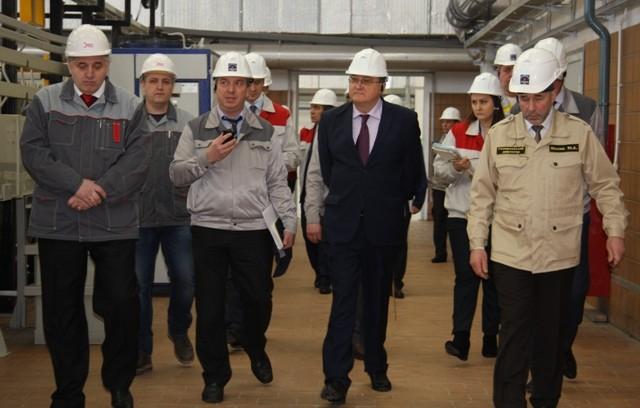 Президент АО «ТВЭЛ» Юрий Оленин совершил рабочую поездку на Ковровский механический завод