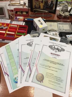 Интерсофт Евразия получила свой 55-й патент