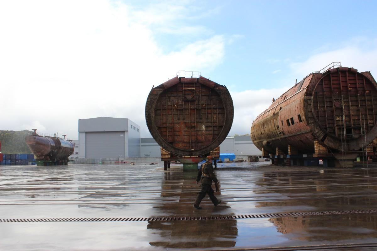 утилизация подводных лодок в сша