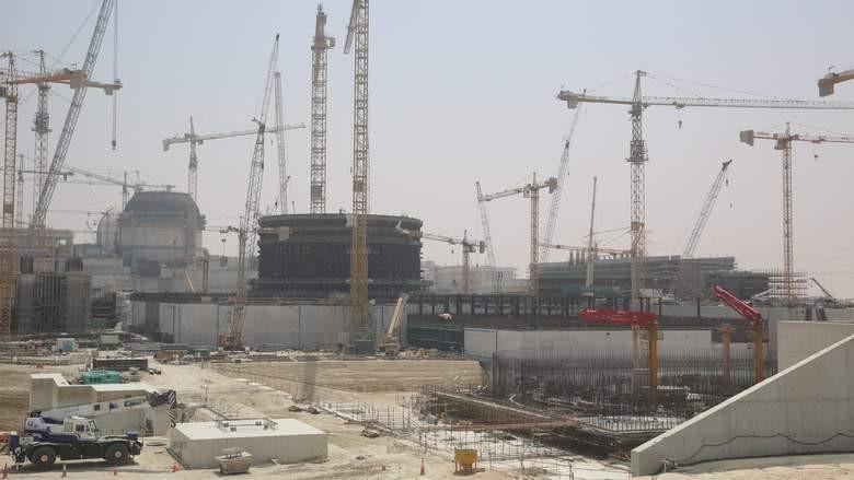 """На 3 блоке АЭС """"Барака"""" установлены парогенераторы"""