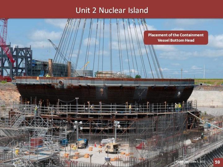 Проектные изменения сказываются на производстве оборудования для блоков №№2/3 АЭС V.C.Summer