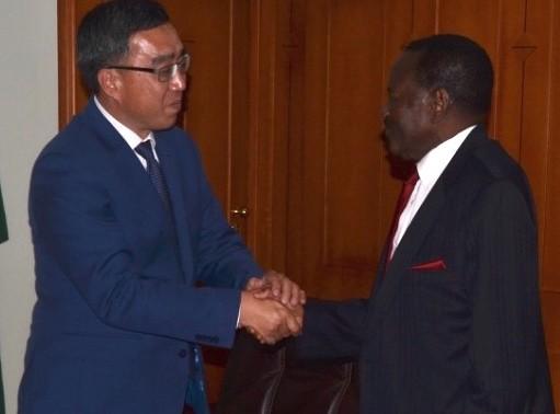 Китай начинает производству урана на руднике Хусаб в Намибии