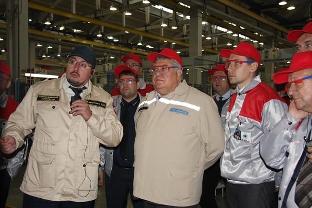 Руководители РосРАО ознакомились с опытом внедрения ПСР на Ковровском механическом заводе