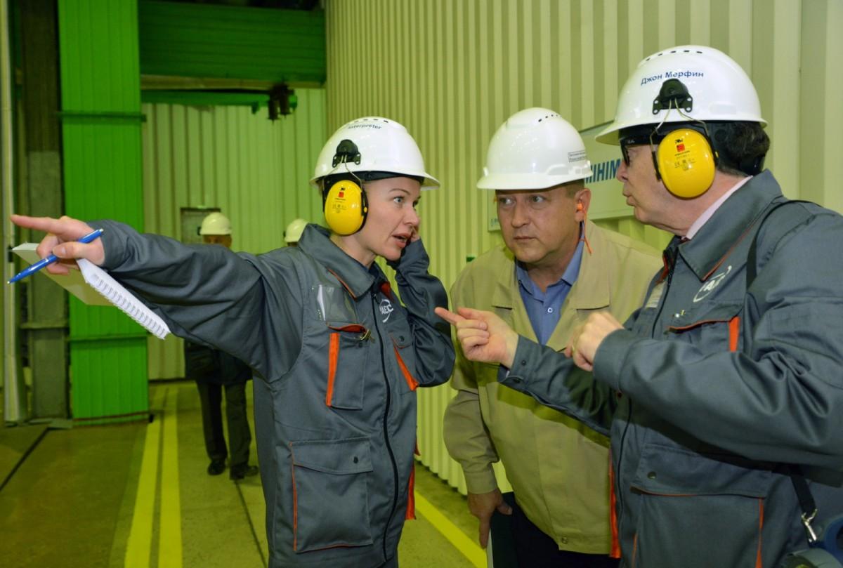На Ровенской АЭС продолжается партнерская проверка Парижского центра ВАО АЭС