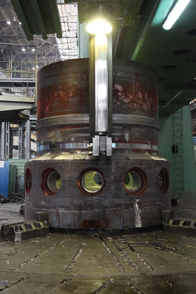 Завершен контроль качества кольцевого шва на полукорпусе второго реактора силовой установки «РИТМ-200»