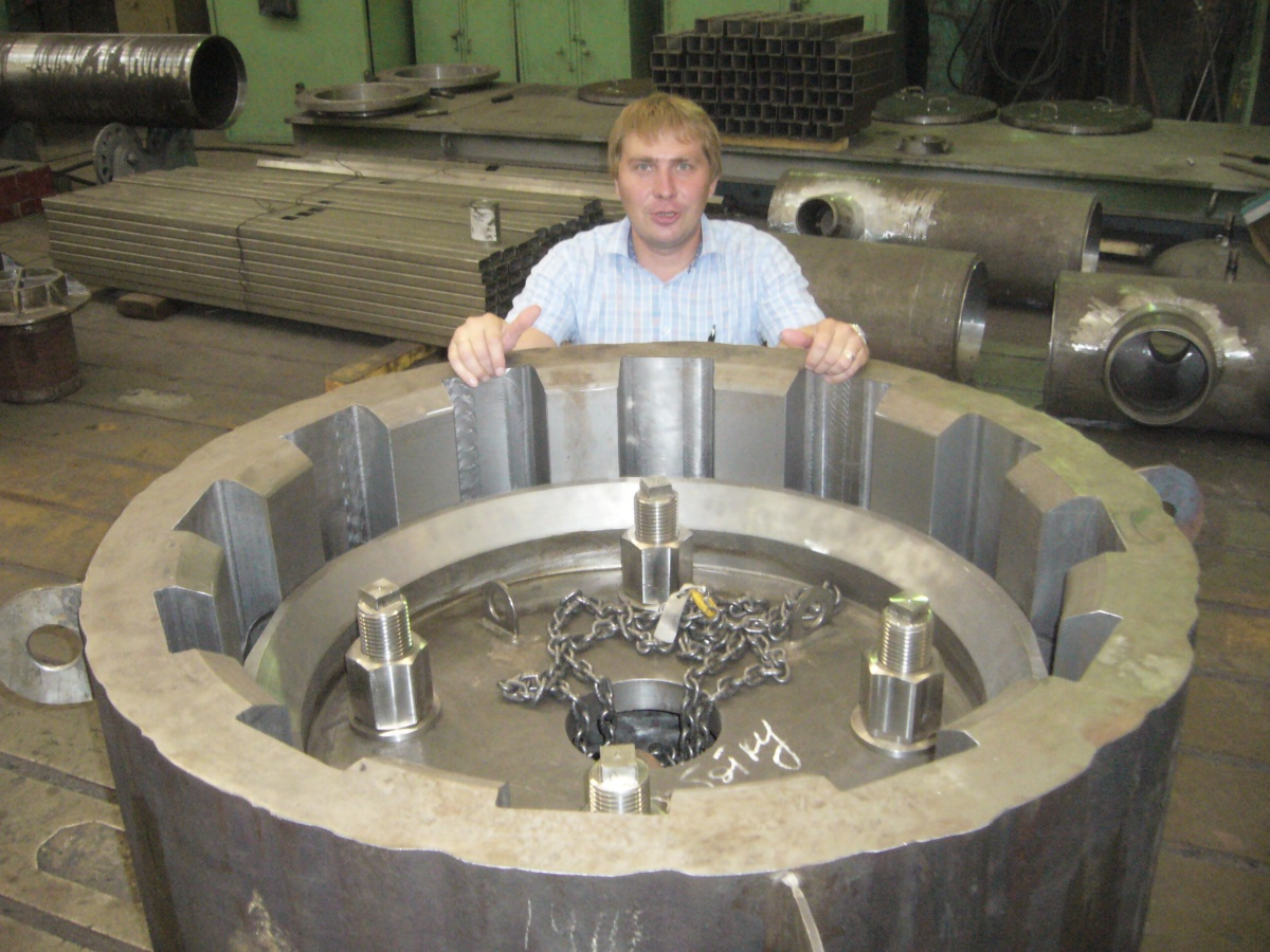 Атомэнергомаш успешно провёл испытания камеры парогенератора новейшей реакторной установки «БРЕСТ-ОД-300»