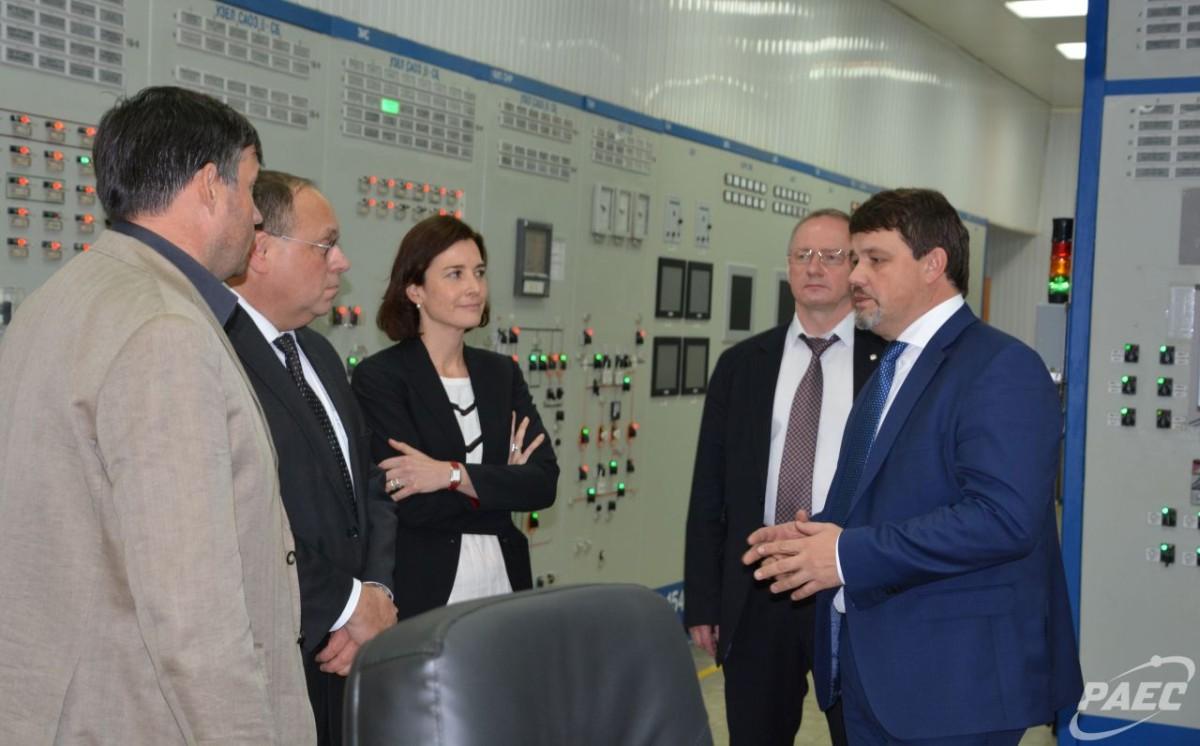На Ровенской АЭС завершилась партнерская проверка Парижским центром ВАО АЭС