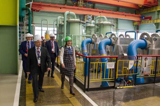Калининскую АЭС с ознакомительным визитом посетили представители ВАО АЭС