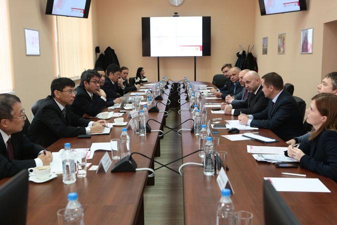 «ЗиО-Подольск» посетили представители японской компании Mitsubishi Heavy Industries (MHI)