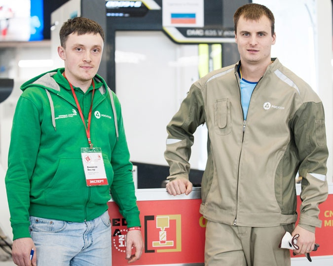 На ЗиО-Подольске работает один из лучших фрезеровщиков страны