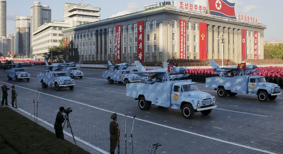 Северная Корея заявляет о разработке грязной ядерной бомбы-беспилотника