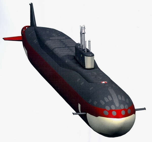 Четвертую подводную лодку проекта «Борей» спустят на воду в 2017 году
