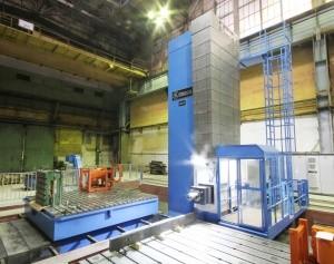 """Новый станок с ЧПУ на """"ЗиО-Подольске"""" будет использован для обработки корпуса реактора РИТМ-200"""