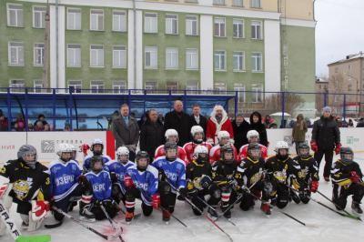 В Озерске открыты новые детские спортивные площадки