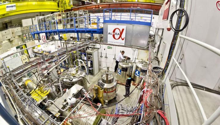 Специалисты ЦЕРН впервые измерили оптический спектр антиматерии