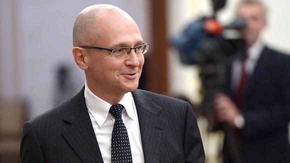 На съезде «Единой России» ждут Сергея Кириенко