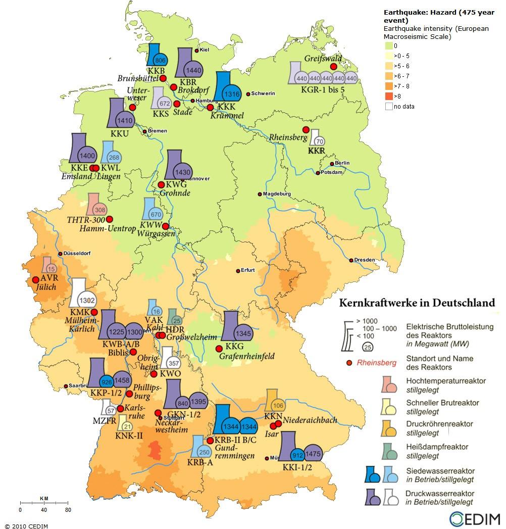 Германские энергетики добились в суде компенсации за преждевременное закрытие АЭС
