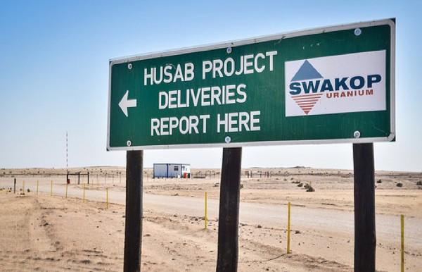 Первая партия урана получена на руднике Хусаб в Намибии