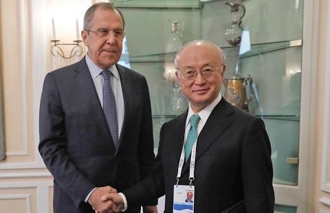 Лавров отметил роль МАГАТЭ в реализации договорённостей по иранской ядерной сделке