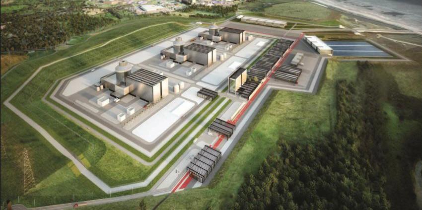 Великобритания подтверждает планы по строительству АЭС Moorside
