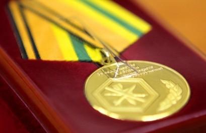 Руководство ФГУП «РосРАО» награждено медалью «За содружество в области химического разоружения»