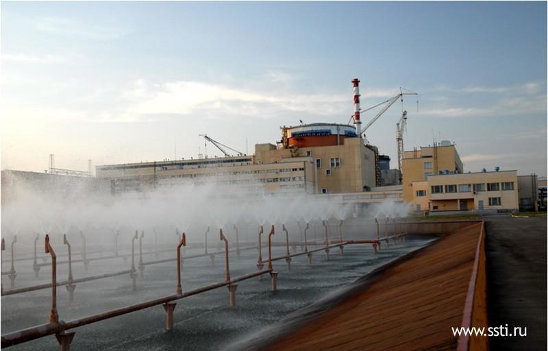 Mist Cooling Tower : Ростовской АЭС пришлось заплатить штраф из за quot перепростоя