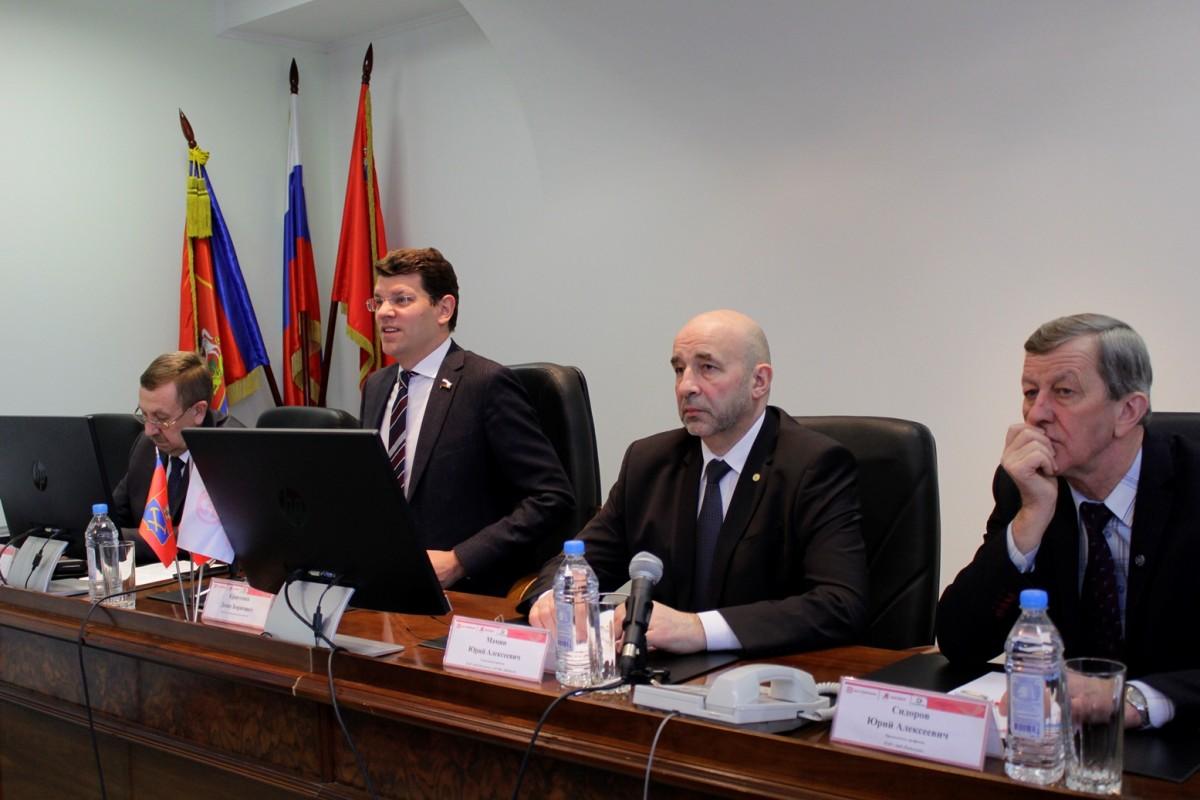 ЗиО-Подольск посетил депутат Госдумы РФ Денис Кравченко