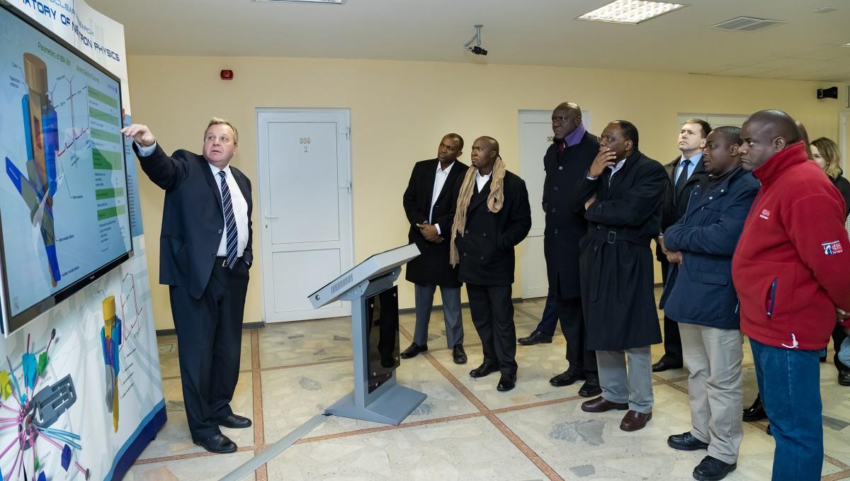 Объединённый институт ядерных исследований налаживает контакты с учёными Замбии