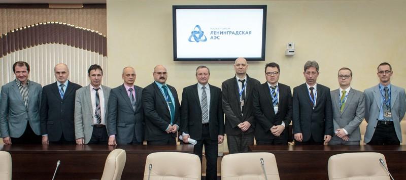 На Ленинградской АЭС завершилась миссия технической поддержки ВАО АЭС