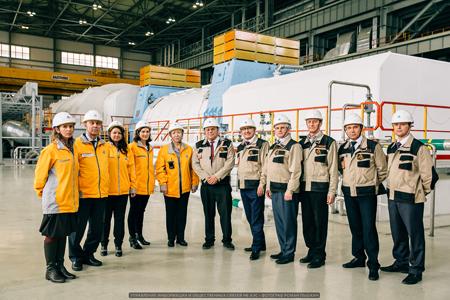 Председатель ВАО АЭС Жак Регальдо посетил Нововоронежскую АЭС