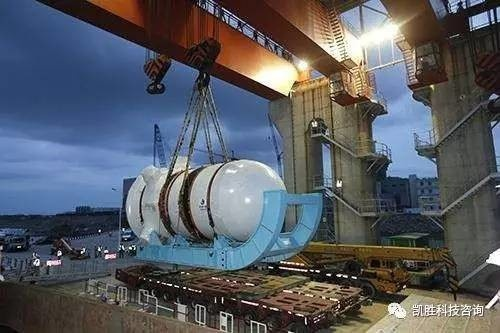 В Китае завершились гидравлические испытания корпуса реактора CAP1400