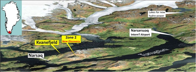 В Гренландии планируют наладить добычу урана и редкоземельных металлов