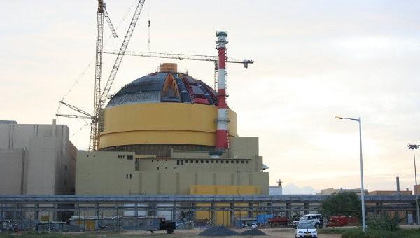 """Второй блок АЭС """"Куданкулам"""" может быть сдан в коммерческую эксплуатацию в апреле"""