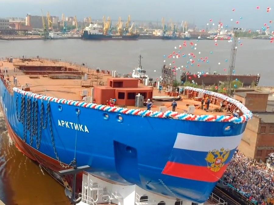 Объединённая судостроительная корпорация попросила перенести сроки сдачи ледокола «Арктика»