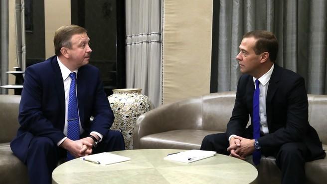 Премьер-министры России и Белоруссии обсудят строительство Белорусской АЭС