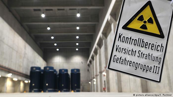 В ФРГ начинают искать место для захоронения отходов АЭС