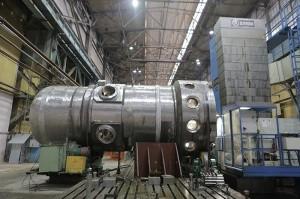 ЗИО-Подольск завершил наиболее сложную операцию мехобработки корпуса ледокольного реактора