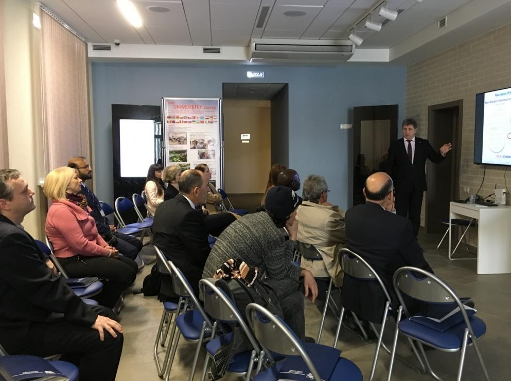 В Визит-центре ОИЯИ стартовала международная стажировка